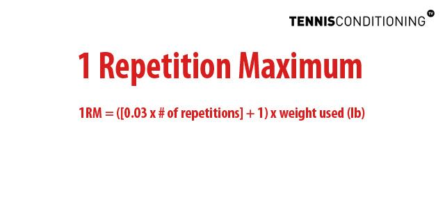 1 Repetition Maximum