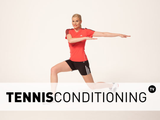 Core Stretch: Lunge And Twist