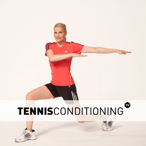 Lunge And Twist Core Stretch