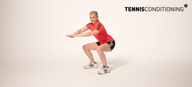 dynamic squat stretch