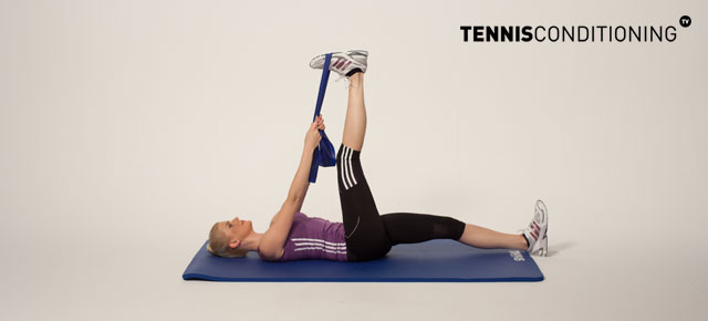 Static Hamstring Stretching