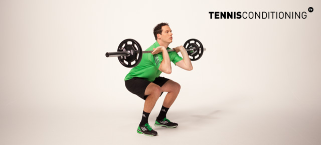 Lateral Squat to Press