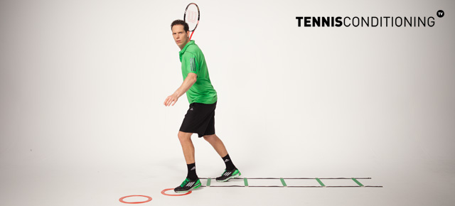 Lateral Fast Feet Groundstroke Step In