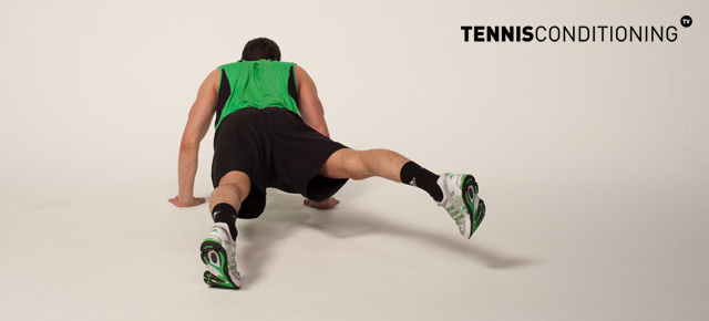 Prone Abductor Lateral Kicks
