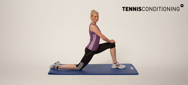 lunge hip flexor