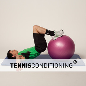 Physio Ball Leg Curl