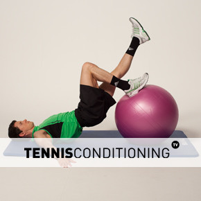 Physio Ball Single Leg Curl