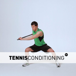 Bilateral Squat with Bar Rotations