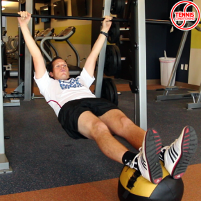 Horizontal Pull Up - Ready Position