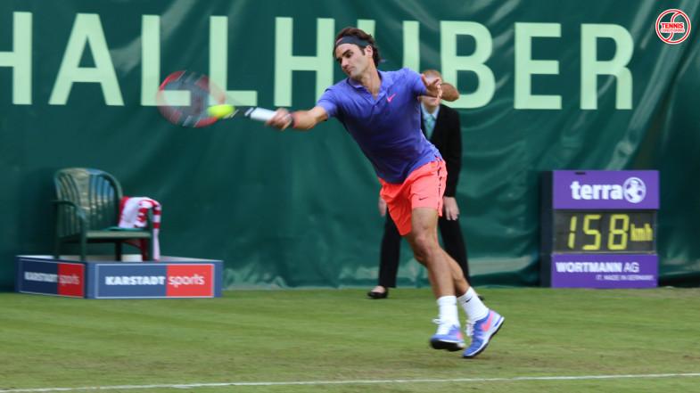 Roger Federer Gerry Weber Open 2015