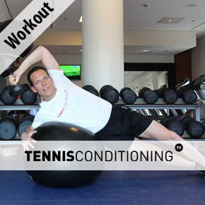 Swiss Ball Workout: Tennis Functional Training