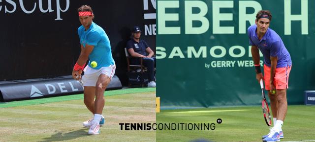 Rafael Nadal and Roger Federer Rod Laver Cup