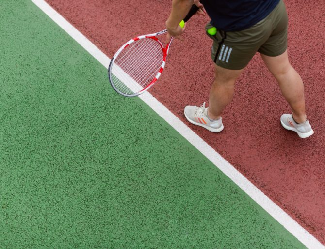 Tennis Agility Drills: How to Improve Agility & Footwork in 4 Minutes