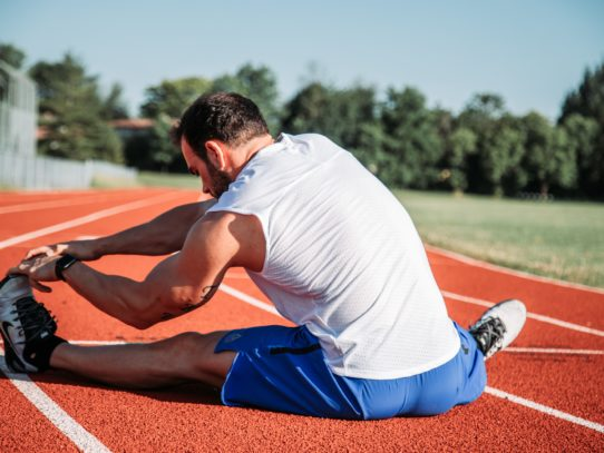 Leg Stretches for Beginners: 5 Post-Match Exercises