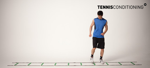 Lateral Fast Feet Speed Ladder Drill